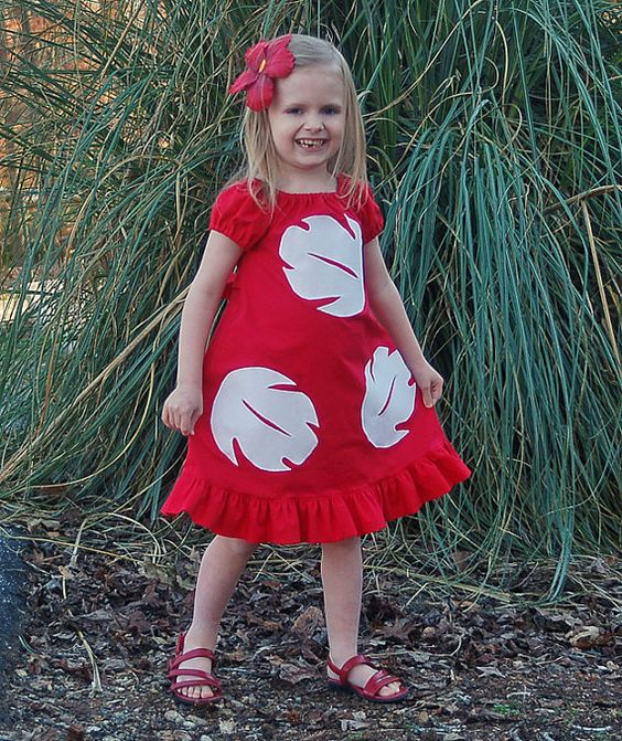 Lilo Disney Vacation Halter or Peasant or Flutter by littleellaroo