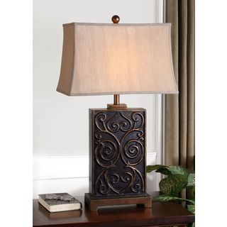 Lavinta Polyresin/ Metal Table Lamp
