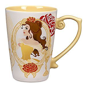 [Tell the tale]Belle's Disney Princess Mug will empower your daydreams from dawn 'til dusk. Imagine all you aspire to before every sip and someday that wish could come true!
