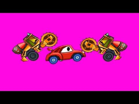 Monster Truck And Car Race Racing Cars For Kids Video For