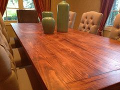 Custom Large Custom Rustic Farmhouse Table