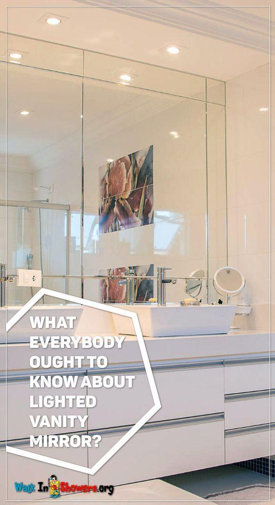 Ideas For Lighted Vanity Mirror ~ http://walkinshowers.org/best ...