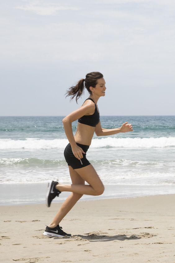 Move your workouts to the beach this Summer. Running or walking on sand burns 30% more calories — dang! Read these tips to help you with your sand workouts.