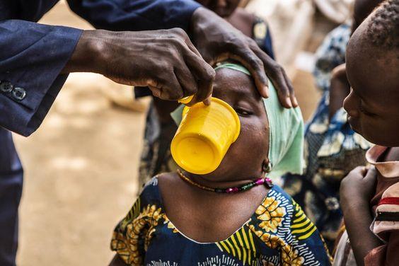 A luta contra a malária!!!  :)