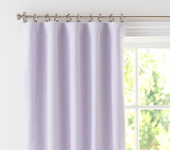 Lavender blackout curtains