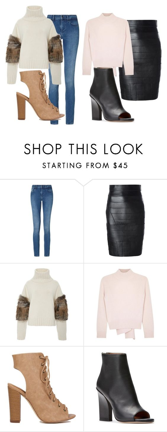 """""""Untitled #97"""" by stylxo ❤ liked on Polyvore featuring Calvin Klein, Dsquared2, Sally Lapointe and Alexander McQueen"""