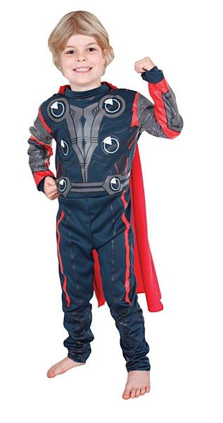 Step into your favourite comic book with our Thor Avengers Costumes. Thor is the hammer wielding Norse God associated with thunder and storms and he certainly can pack a mighty punch.
