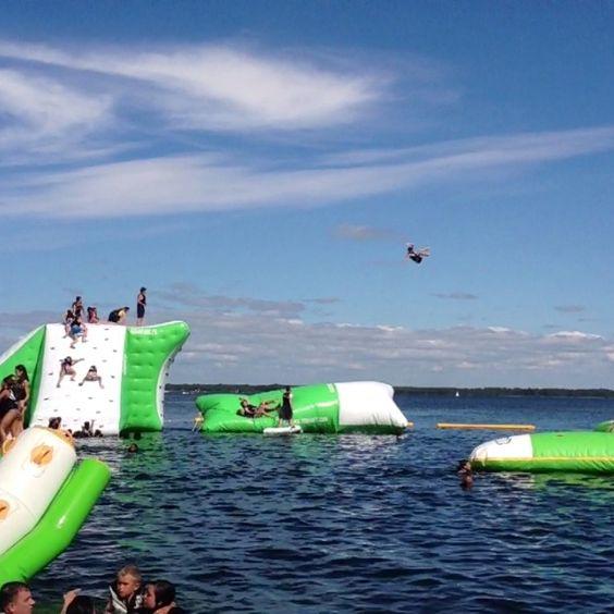 La Catapulte Géante à AquaPark.fr   #Catapulte #Bisca #Portmaguide #Biscarrosse #aquapark #aquaparc #amazing #landes #loisirs #fun #aquitaine #geant #aquaparc #aquapark
