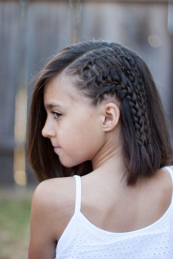 Astounding Braids For Short Hair Cgh Lifestyle Cgh Lifestyle Pinterest Hairstyles For Women Draintrainus