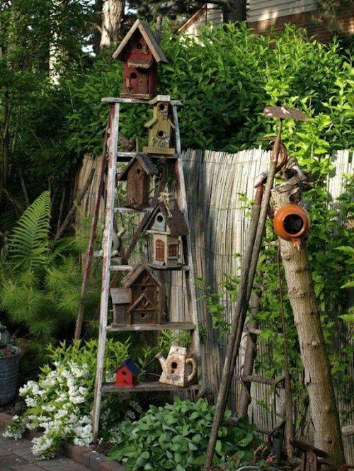 rustikale landschaft dekoartikel vorgarten gestalten