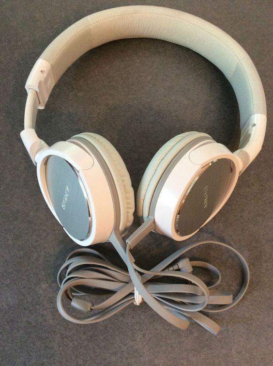 Sony MDR-ZX600 Headphones Over the head White  #Sony