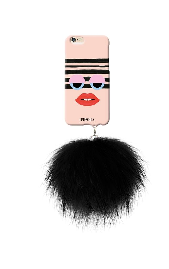 IPHORIA Monster with Pom Pom iPhone Case