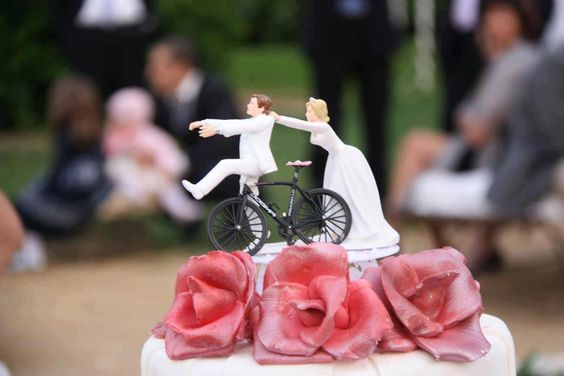 Live on, ride on!! - bit of a theme to some of todays pins.   Not sure why, cycling cake topper