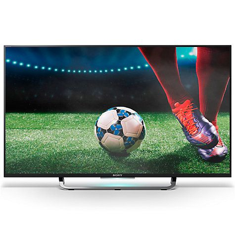 """Buy Sony Bravia KD43X83 LED 4K Ultra-HD Android TV, 43"""" with Freeview HD, Youview & Built-In Wi-Fi Online at johnlewis.com"""