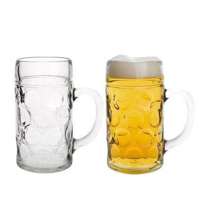 """Domestic Kugelmaßkrug 1 Liter mit Schild und Eichung – 2er Set Maßkrüge """"ISAR"""": http://cocktail-glaeser.de/set/domestic-922675-kugelmasskrug-1-liter-mit-schild-und-eichung-2-er-set-masskruege-isar/"""