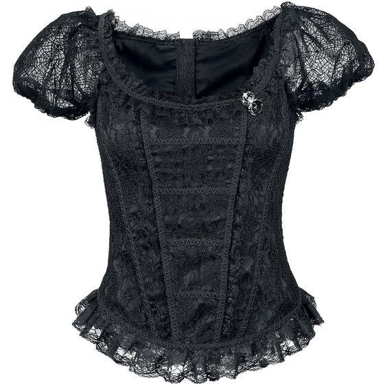 Alcatraz  Korsage  »Spider« | Jetzt bei EMP kaufen | Mehr Gothic  Korsagen & Korsetts  online verfügbar ✓ Unschlagbar günstig!