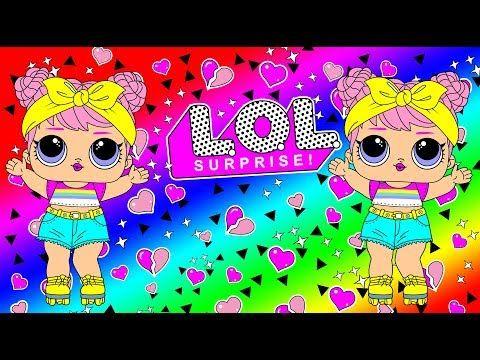 Cara Membuat Lol Surprise Dolls Memeakai Bandu Youtube Lol Boneka Cara Menggambar
