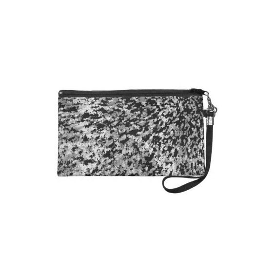 Wristlet Informel Art Abstract from Zazzle.com ($50) via Polyvore