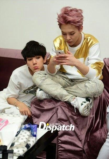 It was like: Xiumin: *busy* Baekhyun: Baozi! Xiumin: Hmm??? Baekhyun: Never mind -_- XD ❤️EXO❤️