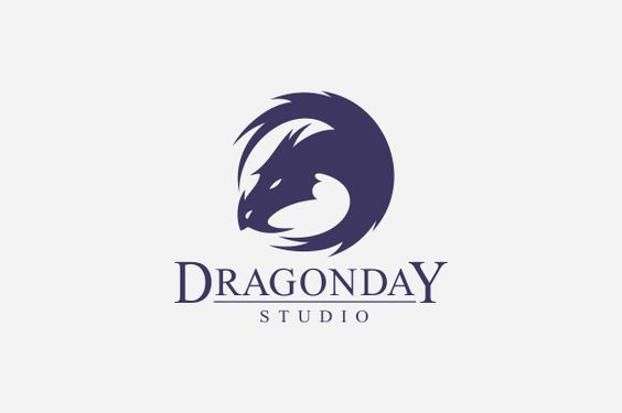 Dragon Day Logo by A.R STUDIO on Creative Market