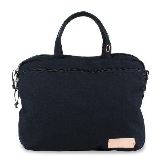 Johannes laptopbag (black)