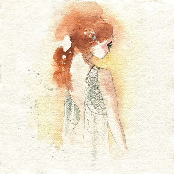 Blule - Ariel - sings for you today.