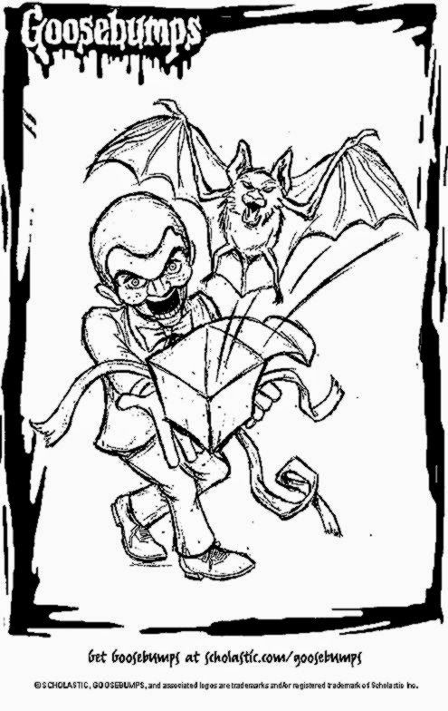 Goosebumps Coloring Pages Slappy
