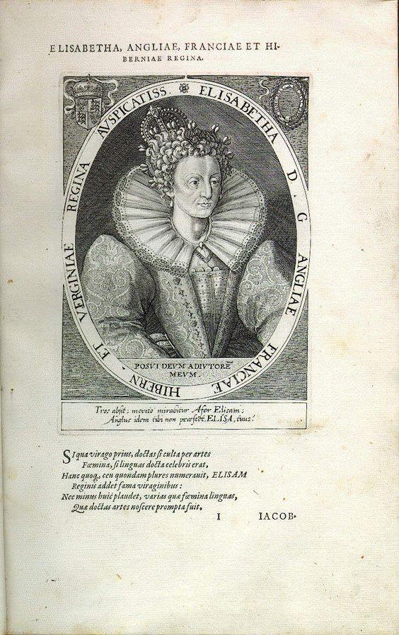 Elisabeth I., Königin von England (*1533, reg. 1558-1603)