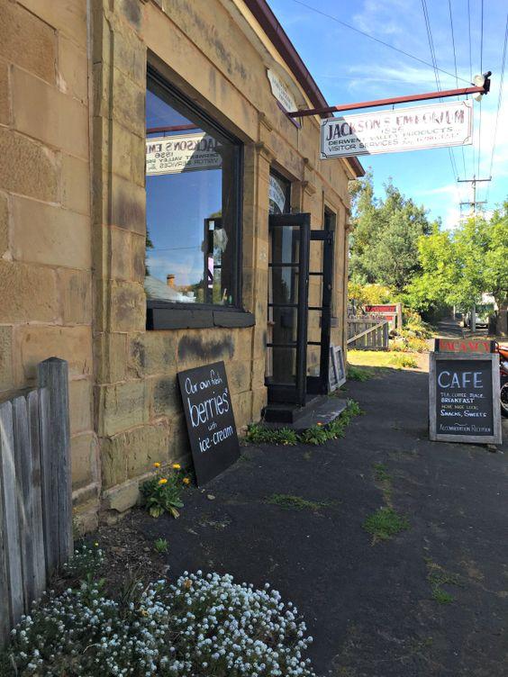 Jackson's Emporium Cafe #Hamilton #Tasmania #Foodie Article and photo for think-tasmania.com
