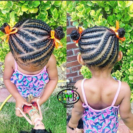 Trendy Adorable Protective Hairstyles For Kids Girls Hairstyles Braids Baby Hairstyles Braids For Kids