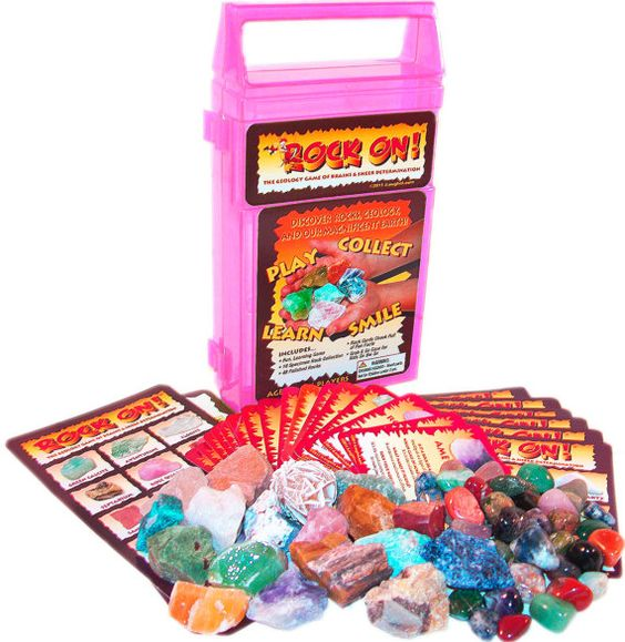 geology games for kids   ROCK ON Geology Game & Rock Collection -- Free Shipping