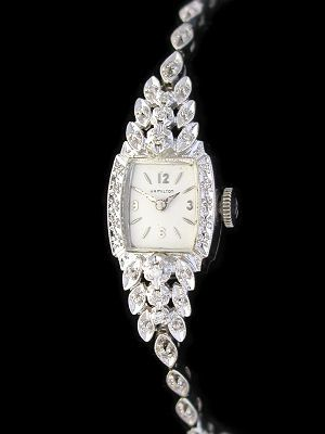 vintage ladies watches for sale | Vintage Ladies Hamilton Watches Gold Diamond Watch Repair