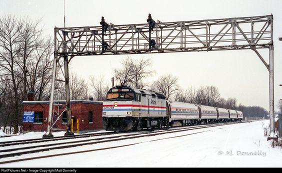 RailPictures.Net Photo: AMTK 206 Amtrak EMD F40PH at Centerport, New York by Matt Donnelly