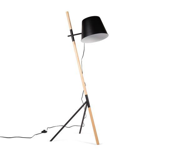 Lámpara de Pie Atari - Negro