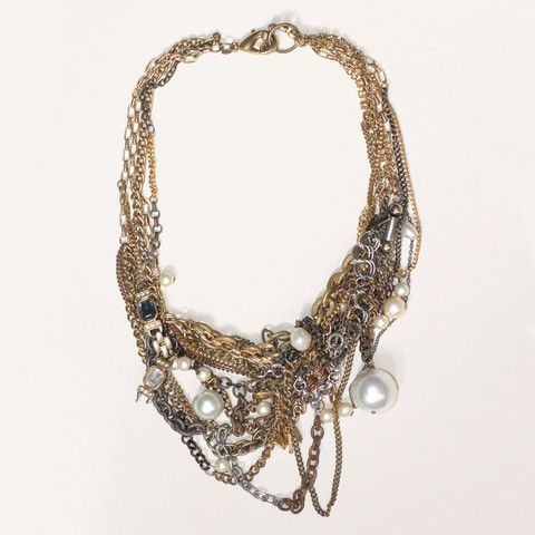 Pearl Sunken Treasure Necklace by Subversive Jewelry $620 Save 20% off with code LOVELDL