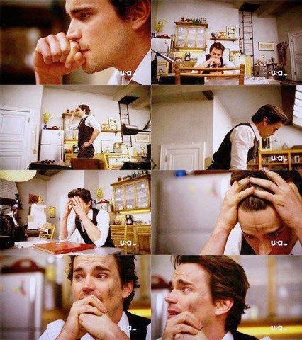 Matt Bomer- Awww I love him so much and he looks so cute even when he is sad. I just want to hug him right now!!
