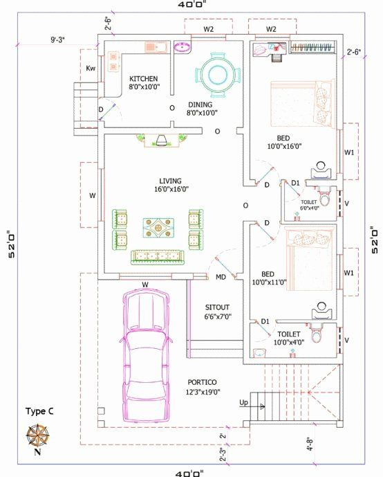 12000 Sq Ft House Plans Inspirational 1200 Sq Ft House Plans India House Front Elevation Desi 1200 Sq Ft House Front Elevation Designs Modern House Floor Plans
