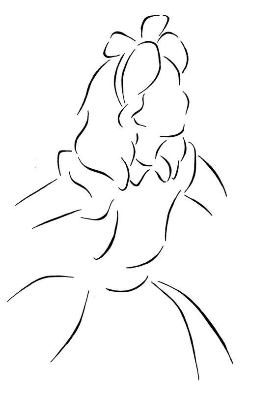 Alice lineart by *Kezzamin on deviantART