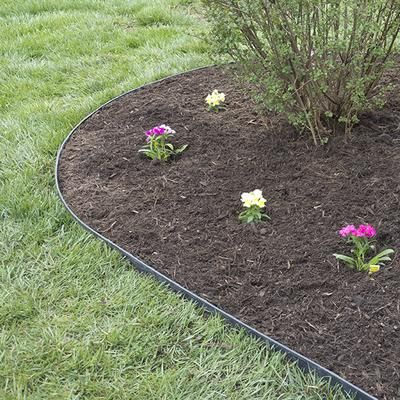 Proflex kit de bordure de jardin proflex sans creusement for Bordures jardin pvc