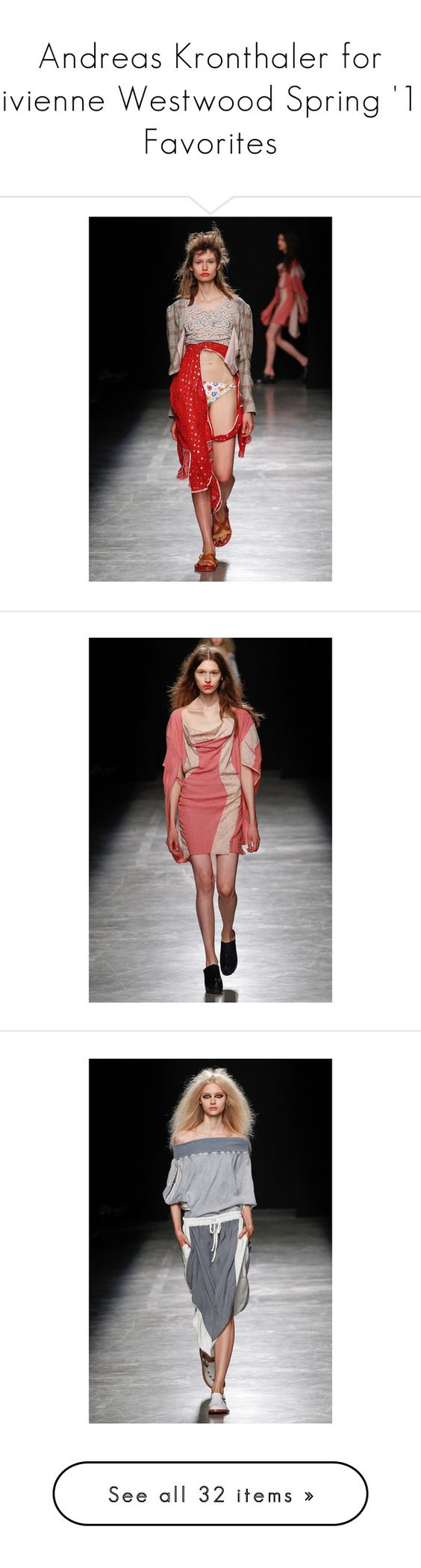 """""""Andreas Kronthaler for Vivienne Westwood Spring '17 Favorites"""" by amberelb ❤ liked on Polyvore"""
