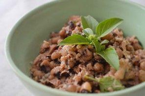 De babar: Salada de feijão com atum