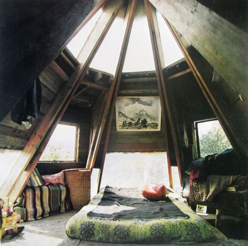 Who has an attic this (architecturally) cool and where can I find one?