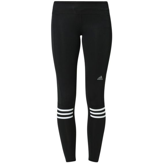 adidas Performance RESPONSE Tights/white found on Polyvore