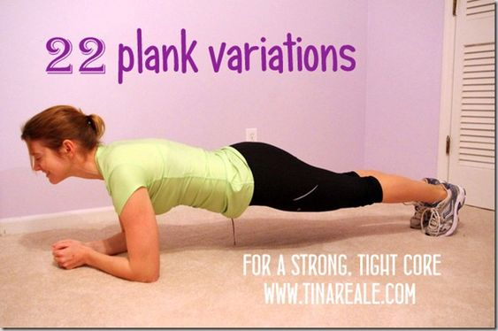 plank...