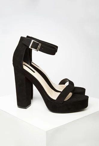 Platform Ankle Strap Sandals | Forever 21 | #stepitup | forever 21 ...