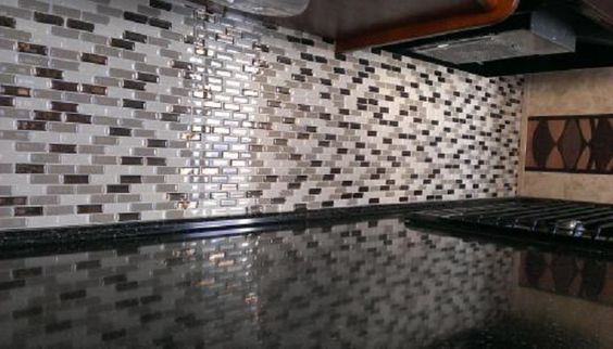 Self Adhesive Wall Tiles for Kitchen and Bathroom: Photo Gallery