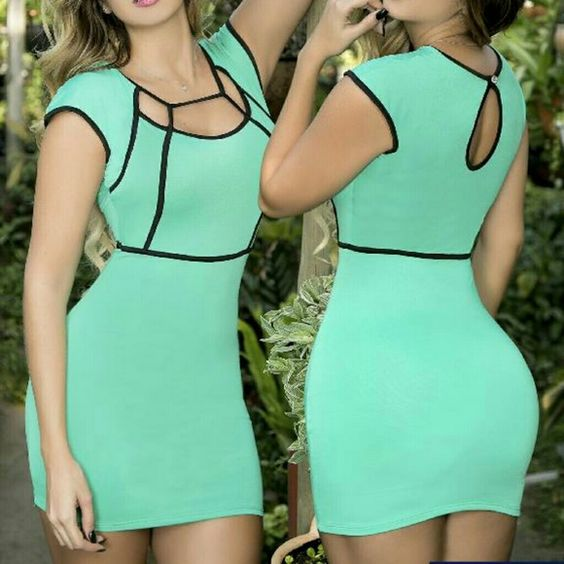 Colombian Sexy Diva Dress Just stunning   super chic   Stretchy material   High quality   New with tags   Imported from Colombia   Available in orange and blue   one size fits most   Unique style and fit   Price is firm Dresses Mini
