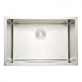 American Imaginations 23 In W Csa Approved Chrome Kitchen Sink