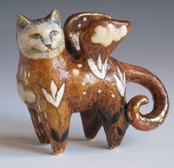 Angel Cat by Margaret Wozniak: