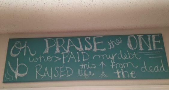 Abounding in Blessings: Oh Praise the One!! Sign